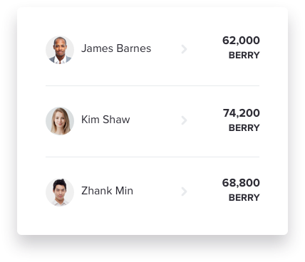 Accept BERRY Token Payments