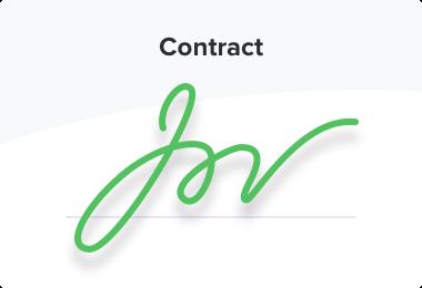 eSign rental agreement